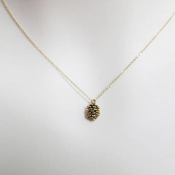 Pine cone, Gold, Silver, Necklace, Lovely, Cone, Necklace, Lovers, Best friends, Mom, Sister, Gift, Accessories, Jewelry