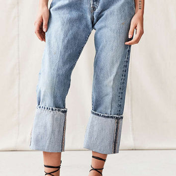 Urban Renewal Recycled Levi's Extreme Cuff Jean | Urban Outfitters