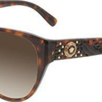 Versace Women's Gradient Non Polarized Sunglasses 58