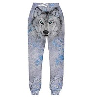 Icey Wolf Joggers Pants