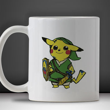 Pikalink Pokemon Mug, Tea Mug, Coffee Mug