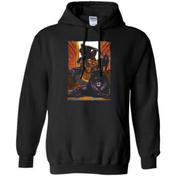 Marvel Black Panther King In the Lion's Den Graphic T-Shirt
