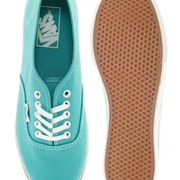 Vans | Vans Authentic Lo Pro Mint Trainers at ASOS