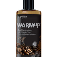 Joydivision Warmup Massage Oil - 5.07 Oz Coffee