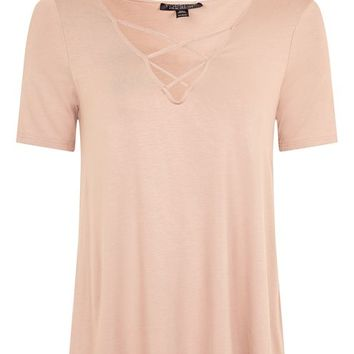 Cross Front Swing Top - Tops - Clothing