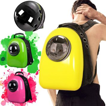 Space Pet Backpack with window Pet Carrier Two Covers Capsule Dog Cat Pet Breathable Safety Carrier Backpack accessories