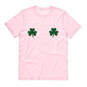 Shamrock Boobs St. Patrick's Day Shirt