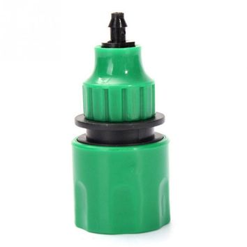 New 1pc Hose Connector Quick Coupling 4/7mm / 8/11mm For Drip Irrigation Plastic Tools For Garden