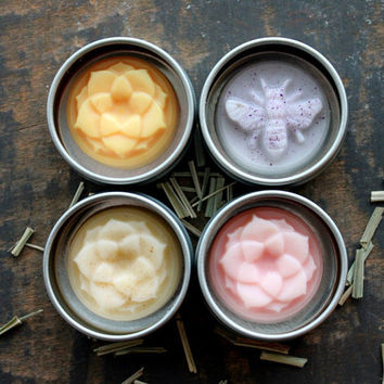 Cuticle and Nail Balm - PIck One- Lemongrass, Lavender, Blood Orange or Pink Grapefruit