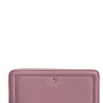 kate spade new york 'orchard street - lacey' pebbled leather wallet | Nordstrom