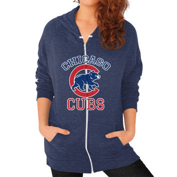 Cubs Baseball Team Chicago Allsex, Chicago cubs world series Zip Hoodie (on woman)