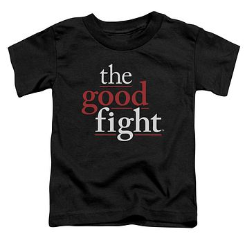 The Good Fight Toddler T-Shirt Logo Black Tee