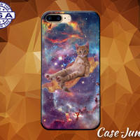 Cat Bacon Galaxy Space Funny Kitty Kitten Tumblr Cute Case iPhone 5 5s 5c iPhone 6 and 6+ and iPhone 6s iPhone 6s Plus iPhone SE iPhone 7 +