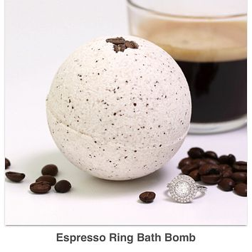 Expresso Ring Bath Bomb