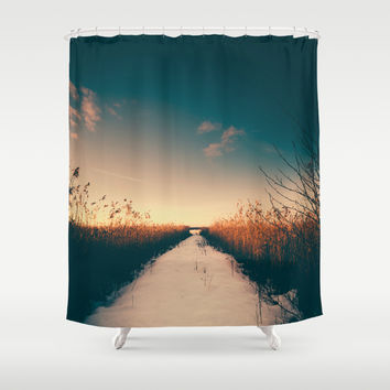 why move Shower Curtain by HappyMelvin