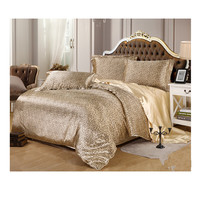 Silk King Queen Double Size Silk Duvet Quilt Cover Sets Bedding Cover Set  02