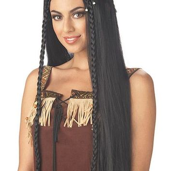 California Costumes Female Sexy Indian Princess Wig CC70508