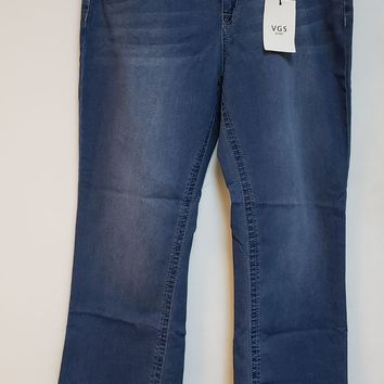 VGS Womens Slim Boot Stretch Jeans Model VGS-P9853X