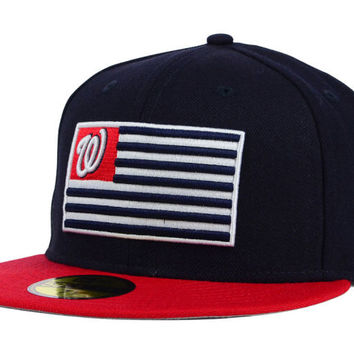 Washington Nationals MLB Team Merica 59FIFTY Cap