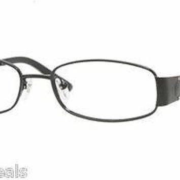 NEW AUTHENTIC VOGUE VO3745B COL 352 BLACK METAL EYEGLASSES FRAME 3745-B W/STONE