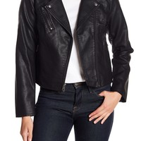 Levi's | Zip Front Faux Leather Jacket | Nordstrom Rack