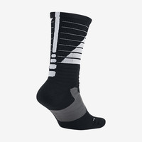 The Nike Hyper Elite Powerup Crew Basketball Socks.