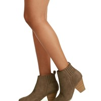 Taupe Turn To Booties