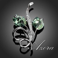 Brooches With Austria Crystal 0030
