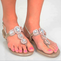 Twinkle In Her Step Shoes: Rose Gold