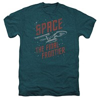Premium Star Trek Space Travek Men Adult T-Shirt