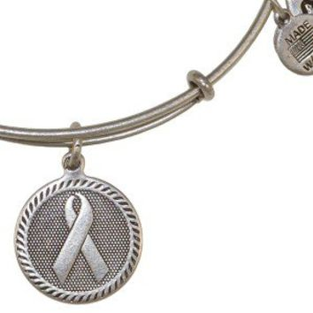 Ribbon of Strength Bangle - Alex and Ani