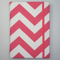 Kindle Cover, Kindle Touch Cover, Kindle Fire Cover, Kindle Paperwhite Cover, Nook Cover, iPad Mini, Tablet Hardcover Case, Pink Chevron