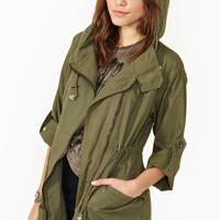 In The Army Anorak