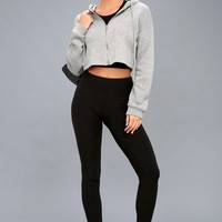 Kimi Black Moto Leggings