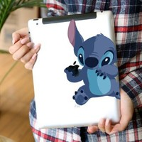 Top Decal Stitch- Apple iPad 2 Sticker/iPad 3 Decal / new ipad Decal Sticker Tablet Avery Skin Cover Art Decal Sticker Partial Protector Accessories