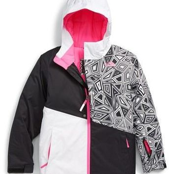 The North Face Girl's 'Casie' Waterproof Insulated Snowsports Jacket,