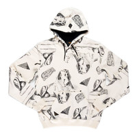 10 Deep: Tombs Hoody - White