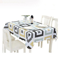 USPIRIT PVC Water Proof Table Cloth New Style High Quality Tablecloth Decorative Elegant Table Cover Hotel Banquet Table