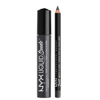 Liquid Suede Lippie Duo - Stone Fox | NYX Professional Makeup