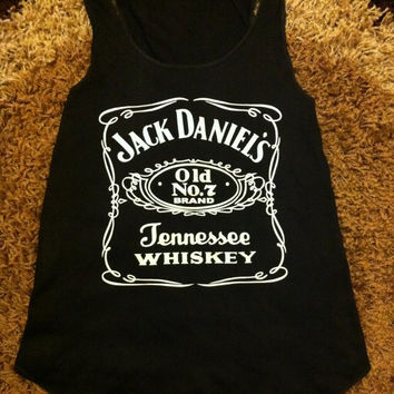 Jack daniels tank tops vest one size fits all