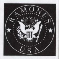 The Ramones Cloth Patch - Crest