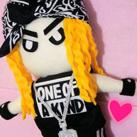 "KPOP G-Dragon plushie plush toy doll ""One of a kind"" MV Version"