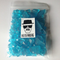 Breaking Bad Heisenberg's Finest Crystal Blue Meth Candy - 60g - Strawberry Flavour