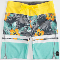 Rip Curl Mirage Aggrofloral Mens Boardshorts Yellow Combo  In Sizes