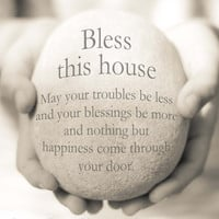 Instant Download, Bless This House, Housewarming Gift, New Home Gift, New Home Quote, House Blessing Quote, Hostess Gift, Moving in gift