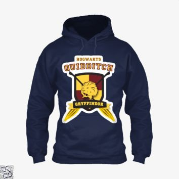 Gryffindor Quidditch, Harry Potter Hoodie