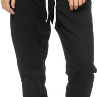 Aperture Honey Black Jogger Pants
