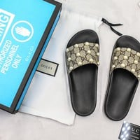 Gucci Gg Pearls Slide Sandal With Blue Box - Best Online Sale