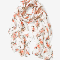 White House | Black Market Floral Skinny Scarf