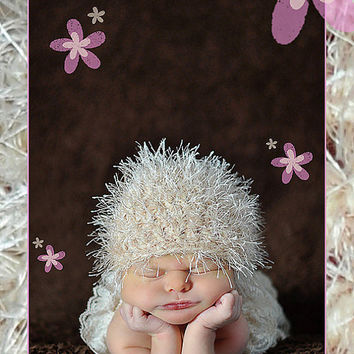 Baby Hat Newborn Hat Crochet Baby Hat Baby Beanie by Monarchdancer